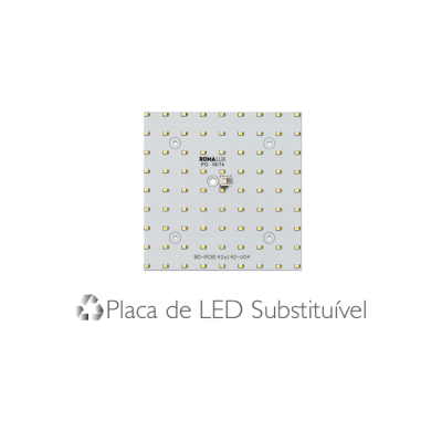Luminária Embutir Recuada 30x30