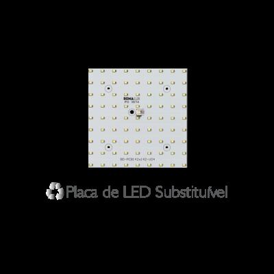 Luminária Embutir Recuada 40x40