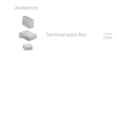 Perfil de Alumínio Embutir Micro