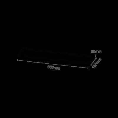 Luminária Embutir Recuada 60x15