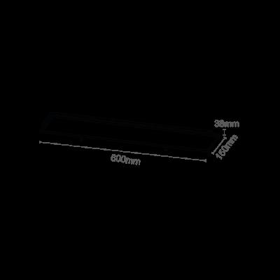 Luminária Embutir 60x15